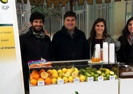 L'azienda OPAC Campisi ad AgruMi 2018 per rappresentare il limone siciliano.